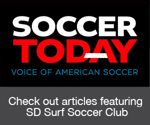 Check out articles featuring Surf Soccer Club on Soccertoday.com.