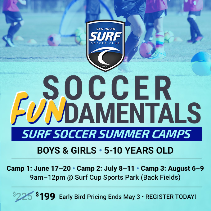 Upcoming Events San Diego Surf Soccer Club